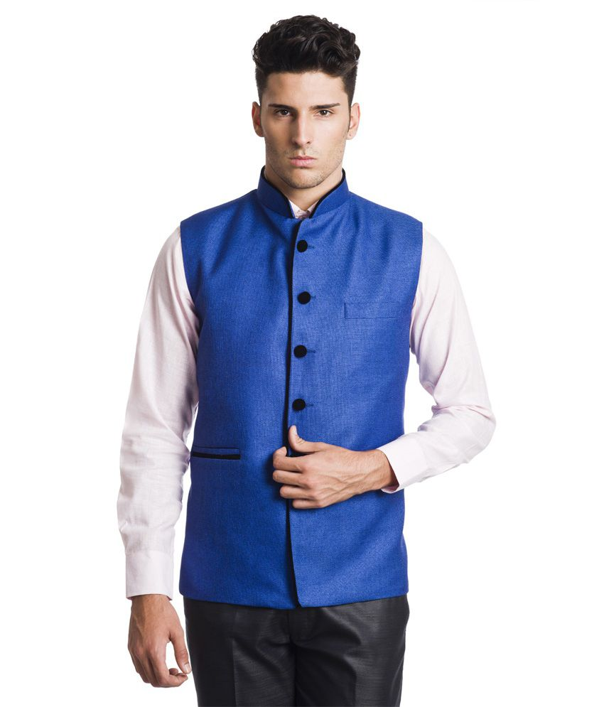Wintage Splendid Blue Waistcoat