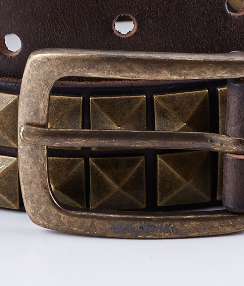 ecd806170f9 Being Human Brown Men Belt  Buy Online at Low Price in India - Snapdeal