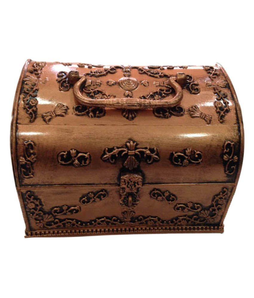 The Blue Leaf Designer Jewellery Box