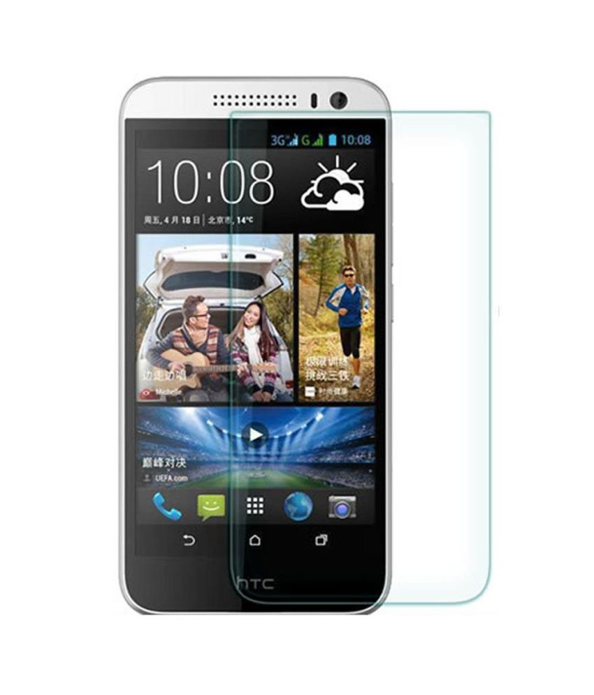 Uni Mobile Care 2 Clear Screen Guards / Screen Protector For Htc Desire 616