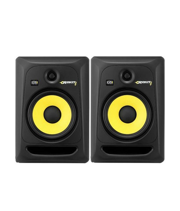 New KRK Rokit 8 G3 Powered Studio Monitors Pair Luxury - sound monitor Review