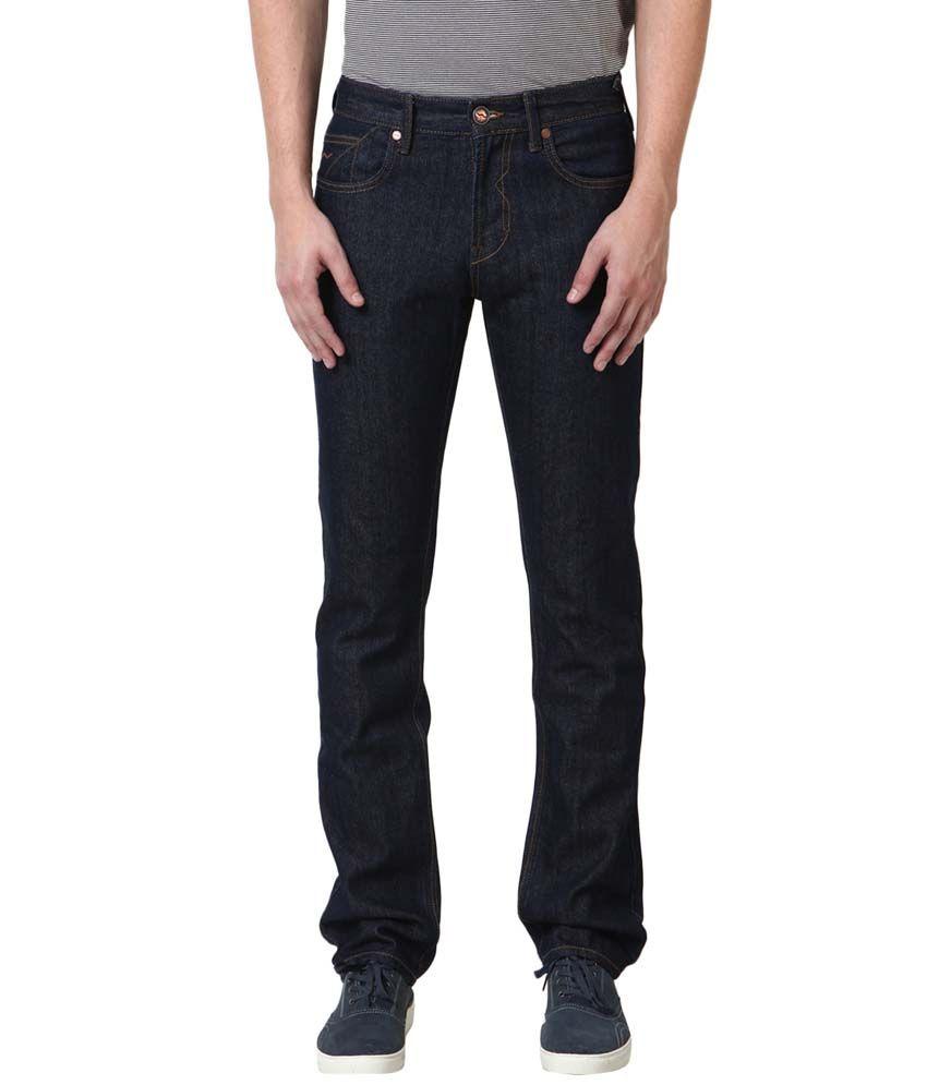 Web Jeans Blue Cotton Basics Jeans