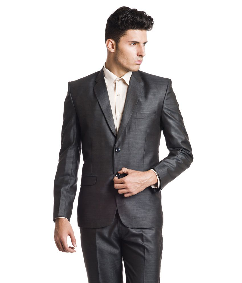Wintage Woollen Formal Black Single Breasted Blazer