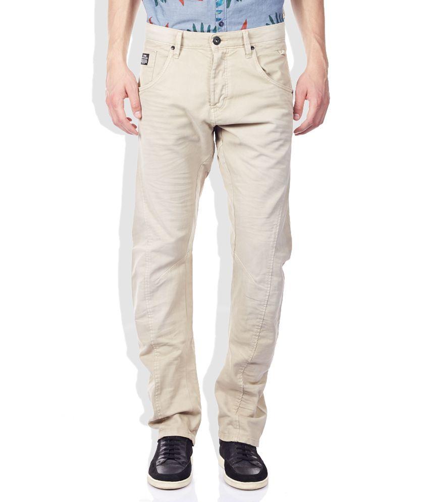 Jack & Jones Beige Jeans