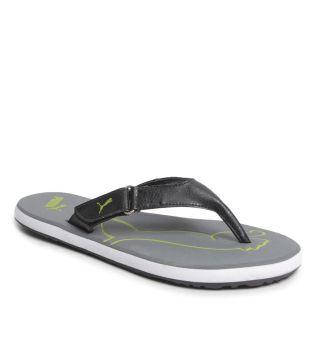 Buy Puma Breeze Gray V Flip Flops
