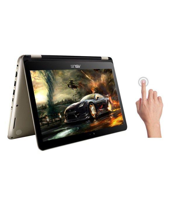 Asus Transformer TP301UJ-C4014T 2-in-1 Laptop (90NB0AM2-M01060) (6th Gen Intel Core i5-4GB RAM- 1TB HDD- 33.78 cm(13.3) Touch- Windows 10- 2GB Graphics) (Gold)
