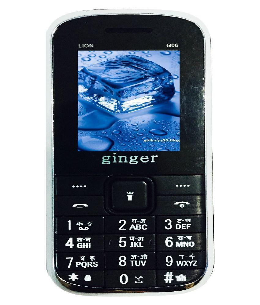 Ginger LION G06 ( Below 256 MB Black )