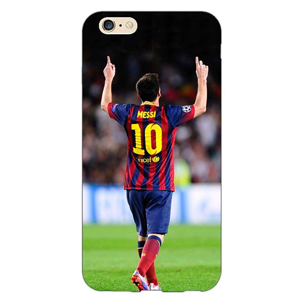 54b285a3823 Jugaaduu Barcelona Messi Back Cover For Apple iPhone 6S Plus - Printed Back Covers  Online at Low Prices   Snapdeal India