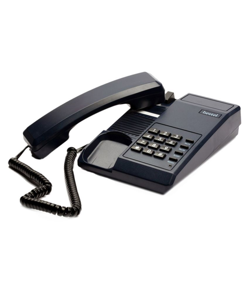 45ef06a1137 Buy Beetel C11 Corded Landline Phone ( Black ) Online at Best Price in  India - Snapdeal