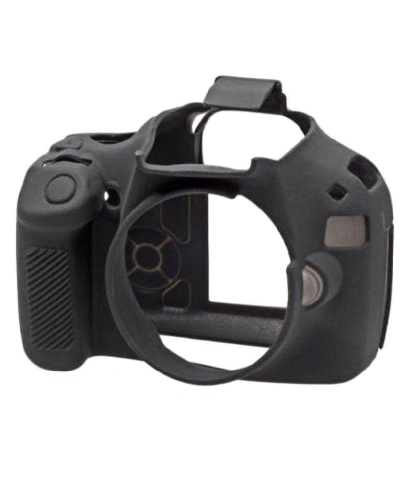 Easycover Silicone Protective Camera Case For Canon 1100d Black
