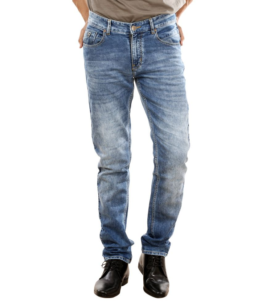Red Tape Blue Slim Fit Jeans