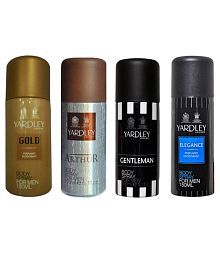 Yardley Combo of Gold, Arthur, Elegane and Gentleman Deo for Men