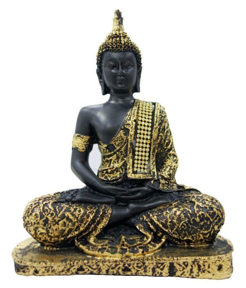Arghyam Polyresin Buddha Idol