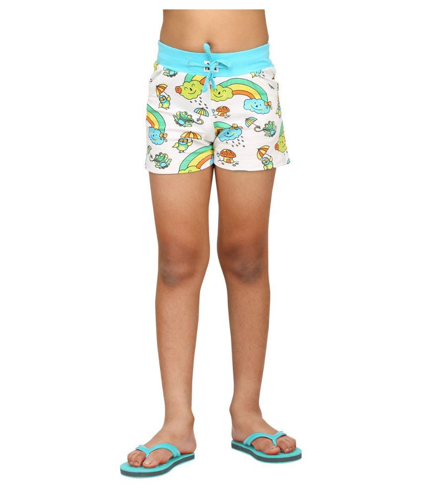 Nuteez Multicolour Cotton Shorts