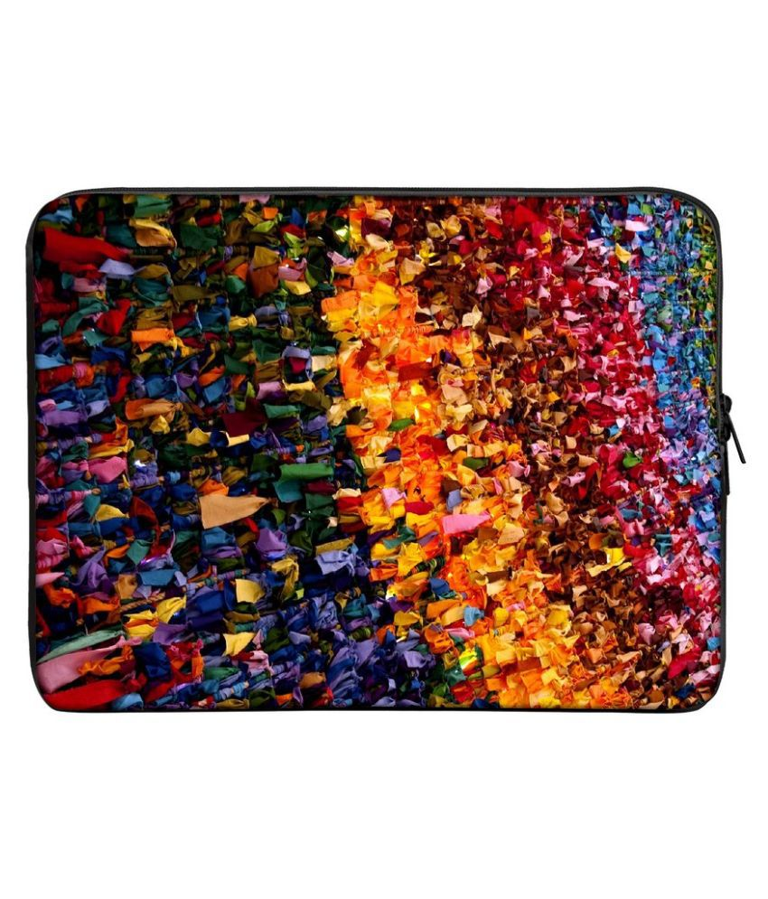 Panda Creation PC_426-15 Multi Color Polyester Laptop Sleeve