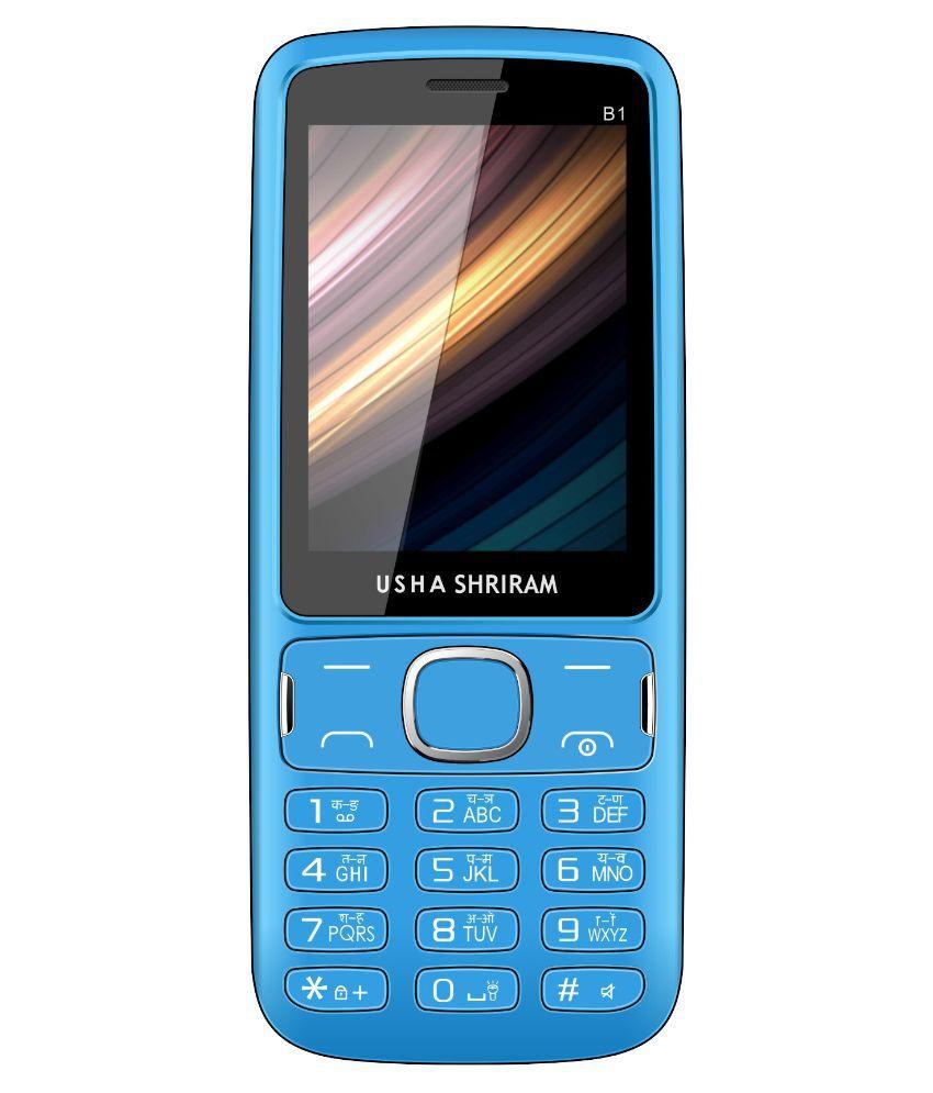 Usha Shriram B1 ( Below 256 MB Blue )