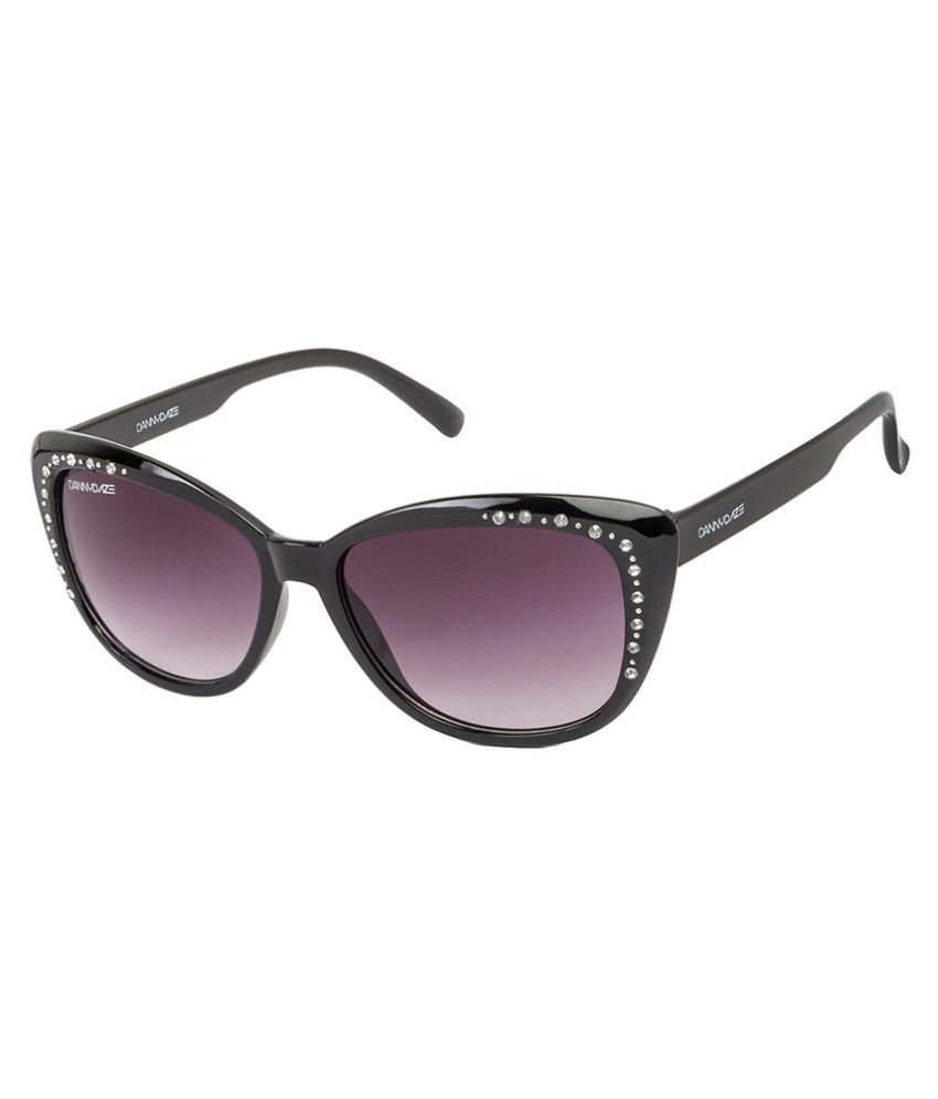 Danny Daze Purple Oversized Sunglasses ( D-2534-C1 )