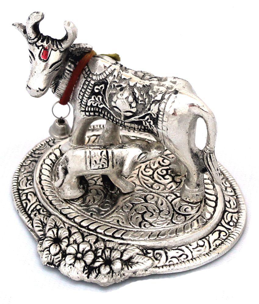 Shree Sai Crafticia Cow And Calf Showpiece