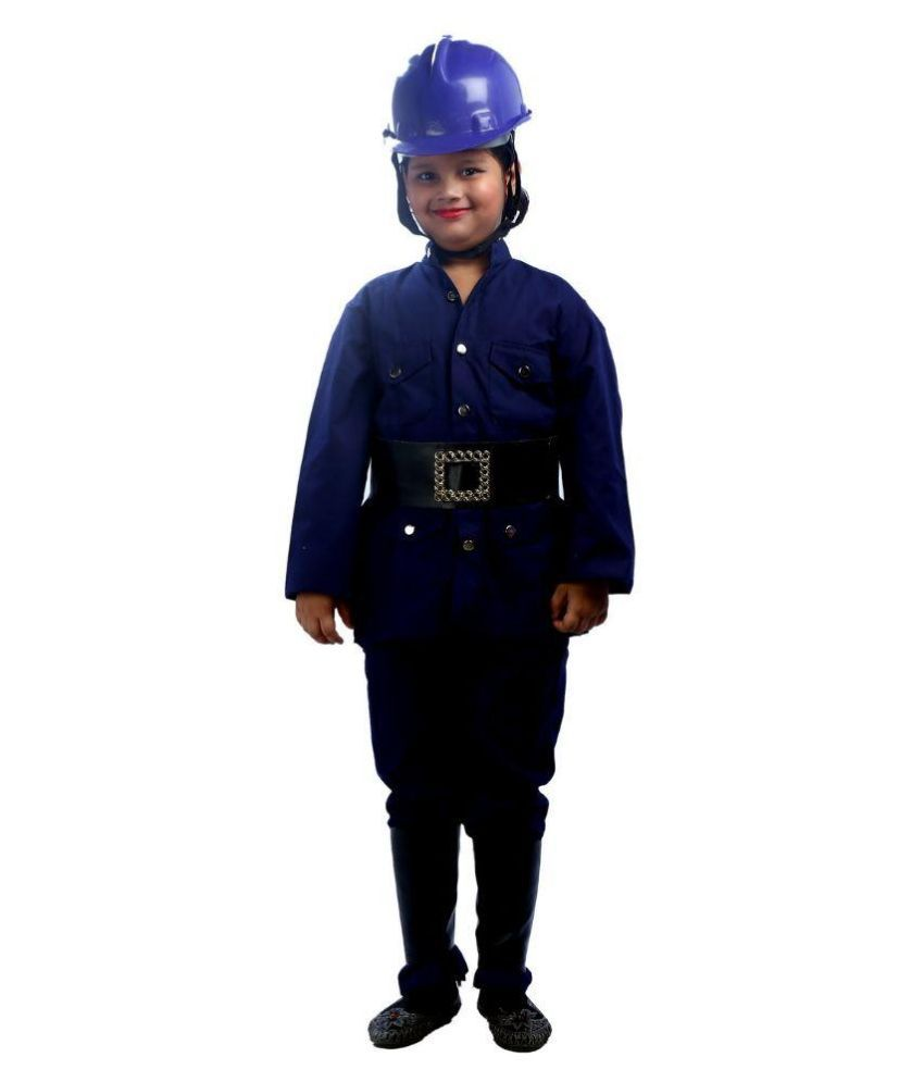 SBD Fireman community Helper Fancy Dress Costume for Kids