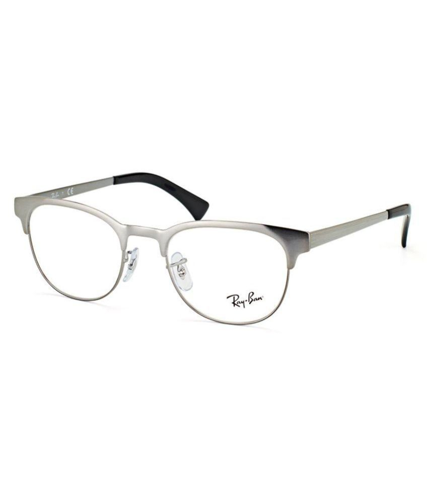 865ca4d40b Ray-Ban Black Clubmaster Spectacle Frame ( rx-6317-2553-51 ) - Buy Ray-Ban  Black Clubmaster Spectacle Frame ( rx-6317-2553-51 ) Online at Low Price -  ...