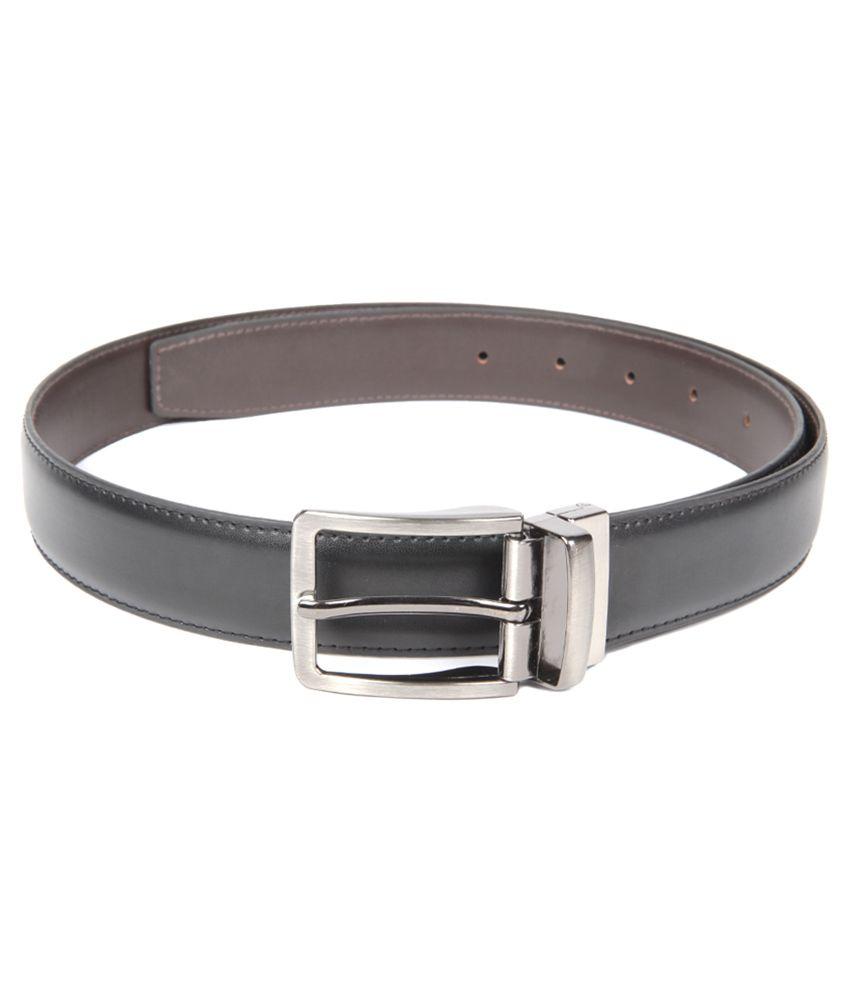 Chisel Black and Brown Reversible Belt For Men