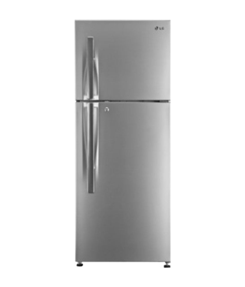 LG 284 LTR 3 Star GL-T302RPZM Double Door Refrigerator  [with Dual Fridge Feature] - Shiny Steel