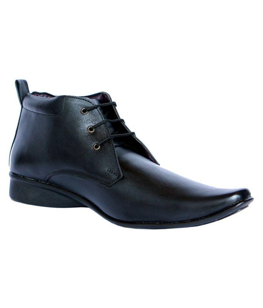 MarcoUno Black Boots
