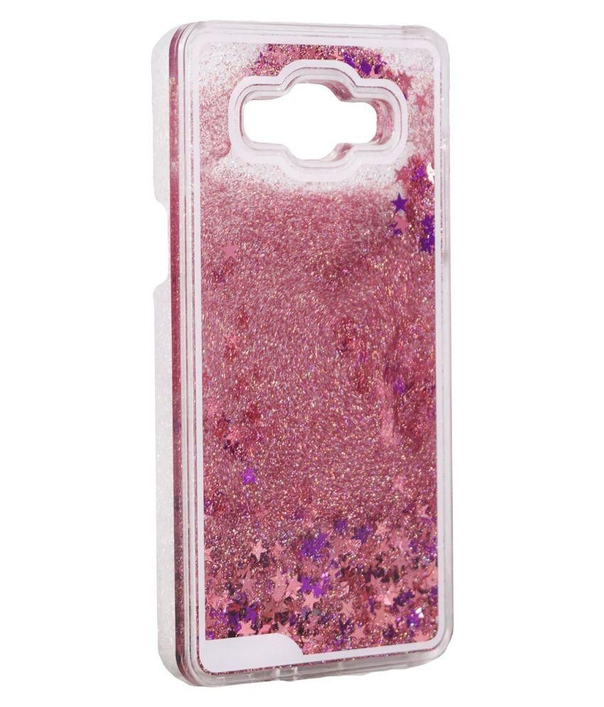 b04dd9fa3 ... Bling Stars Liquid Flowing Sparkle waterfall Quicksand Crystal Clear  Hard Back Case Cover for Samsung Galaxy ...
