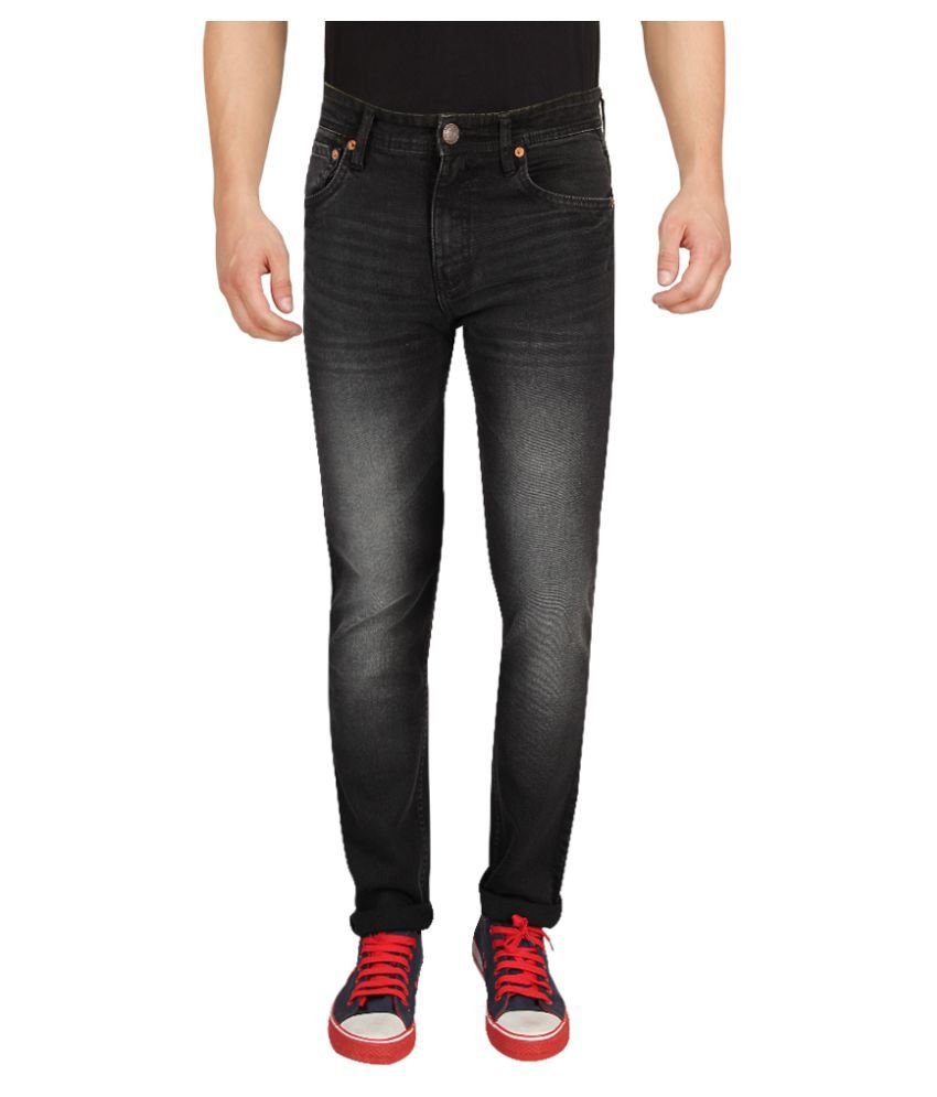 dfcbb3899c0 Levi s Black Slim Fit Faded Jeans - Buy Levi s Black Slim Fit Faded Jeans  Online at Best Prices in India on Snapdeal