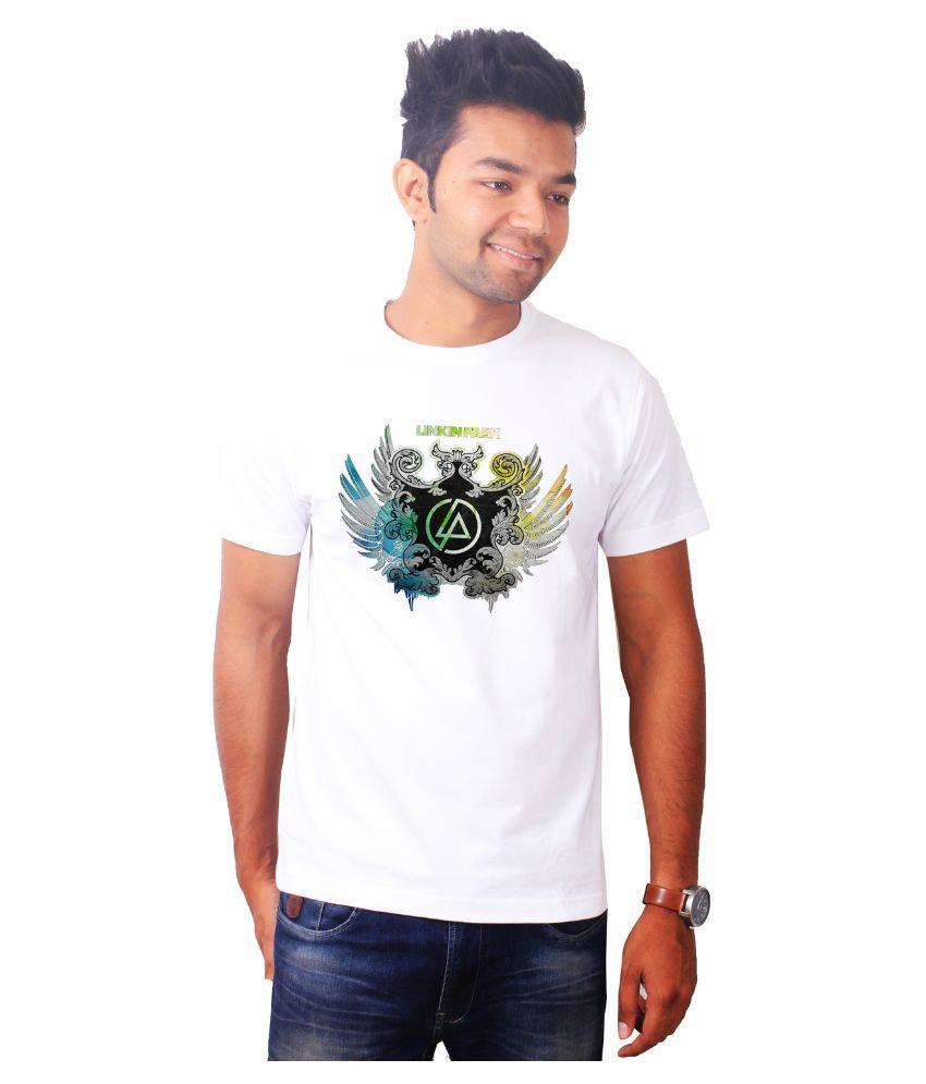 The Banyan Tee White Round T Shirt