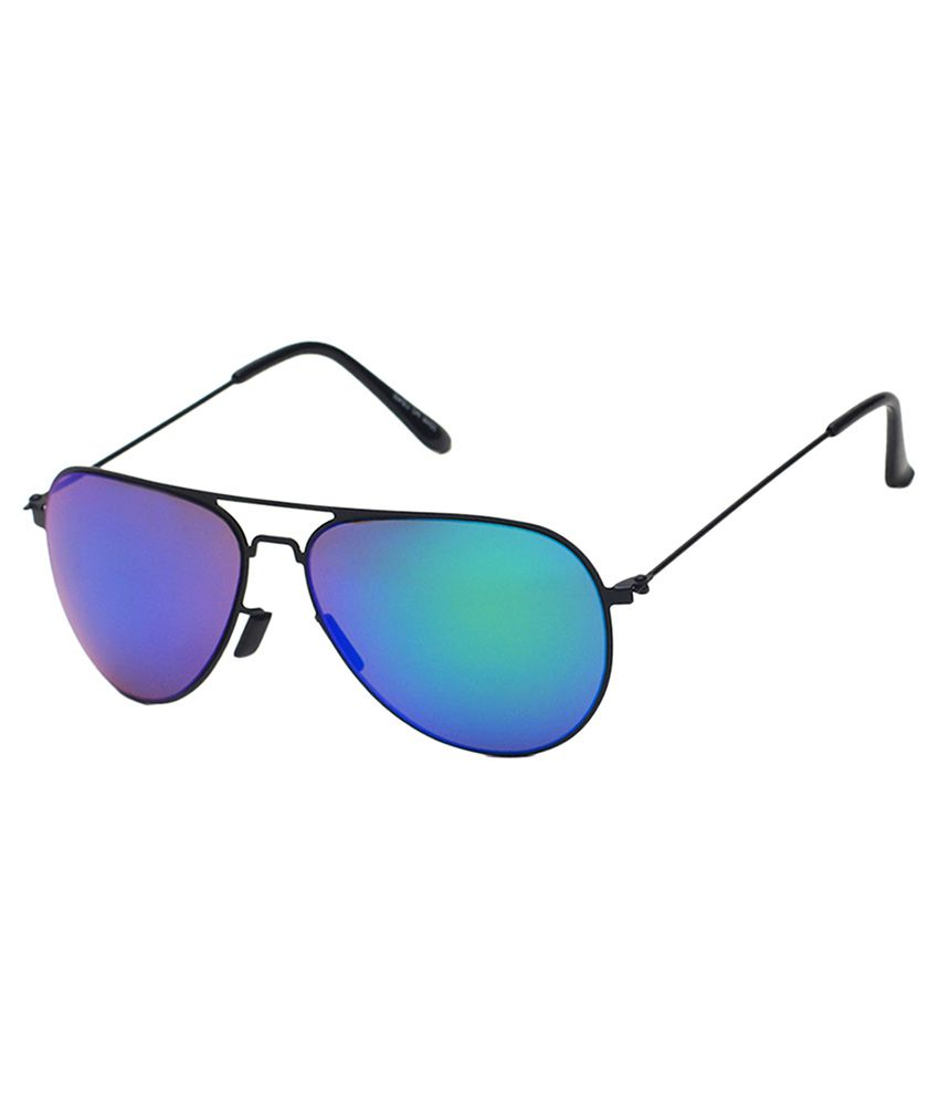 6by6 Blue Aviator Sunglasses ( SG1506 )