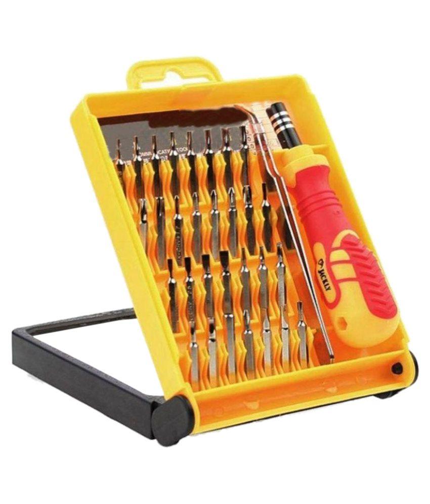 aqua guru steel multipurpose 32 in 1 screwdriver tool kit buy aqua guru steel multipurpose 32. Black Bedroom Furniture Sets. Home Design Ideas