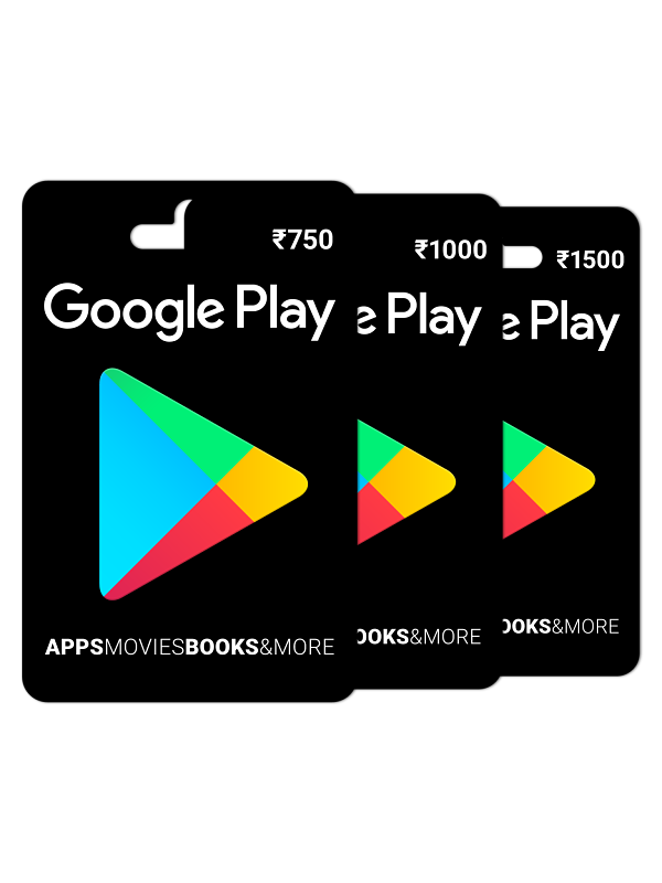 Buy Google Play Gift Card Rs. 750 Online on Snapdeal