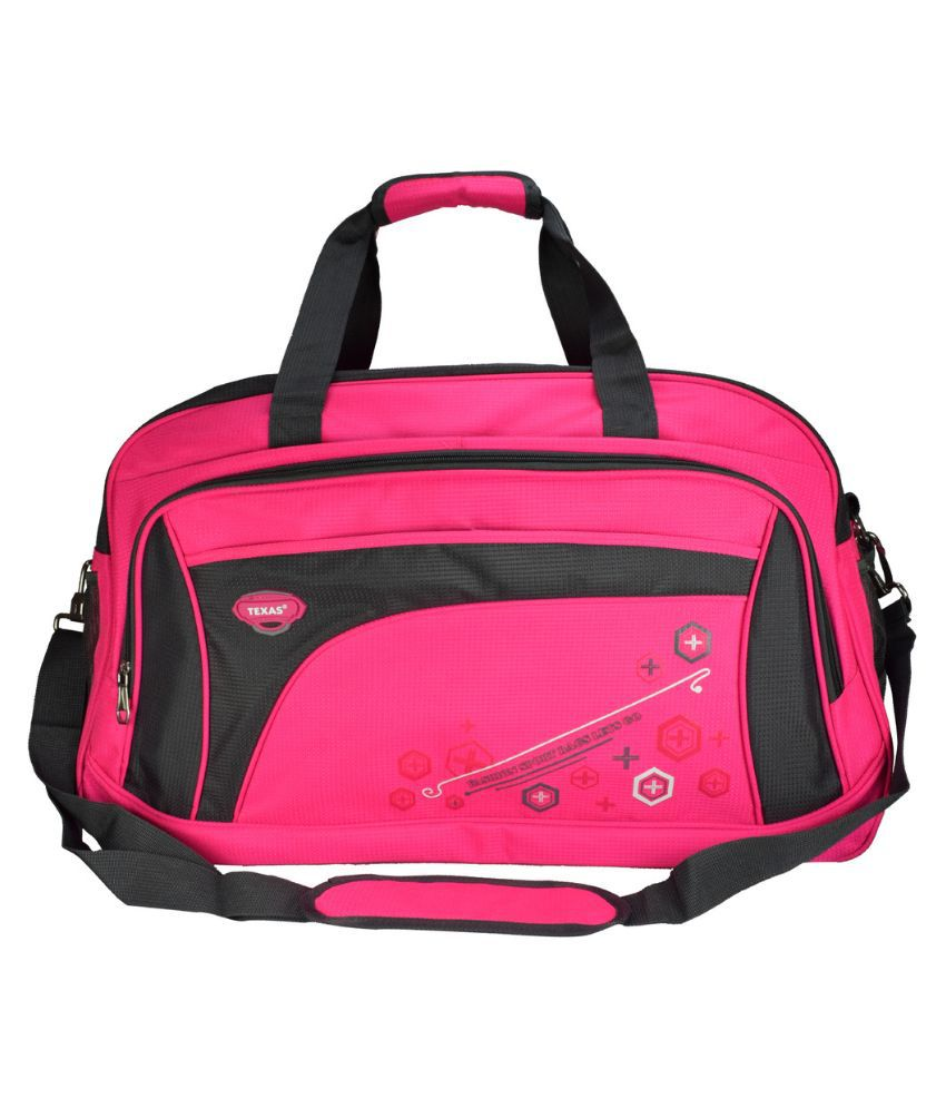 Texas Pink Gym Bag