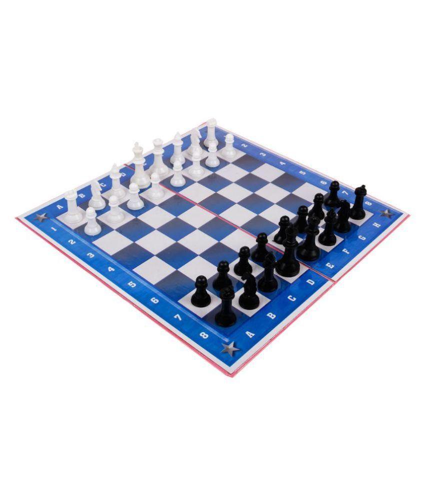 Ankit Toys Multicolor Plastic Chess Board Set