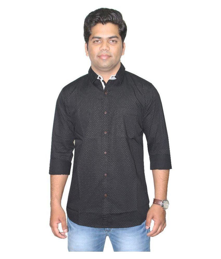 Southbay Black Casuals Slim Fit Shirt