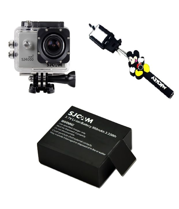 sjcam sj4000 wifi sports camera with *** free charger  + bobber ***