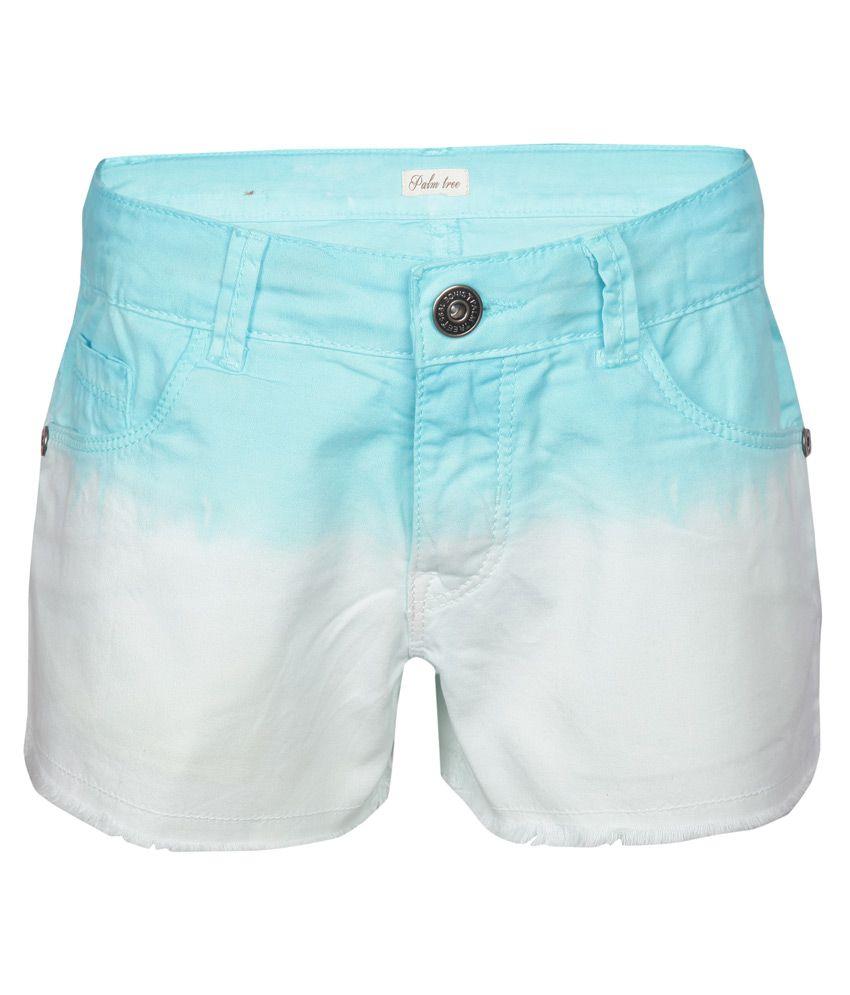 Gini & Jony White Shorts
