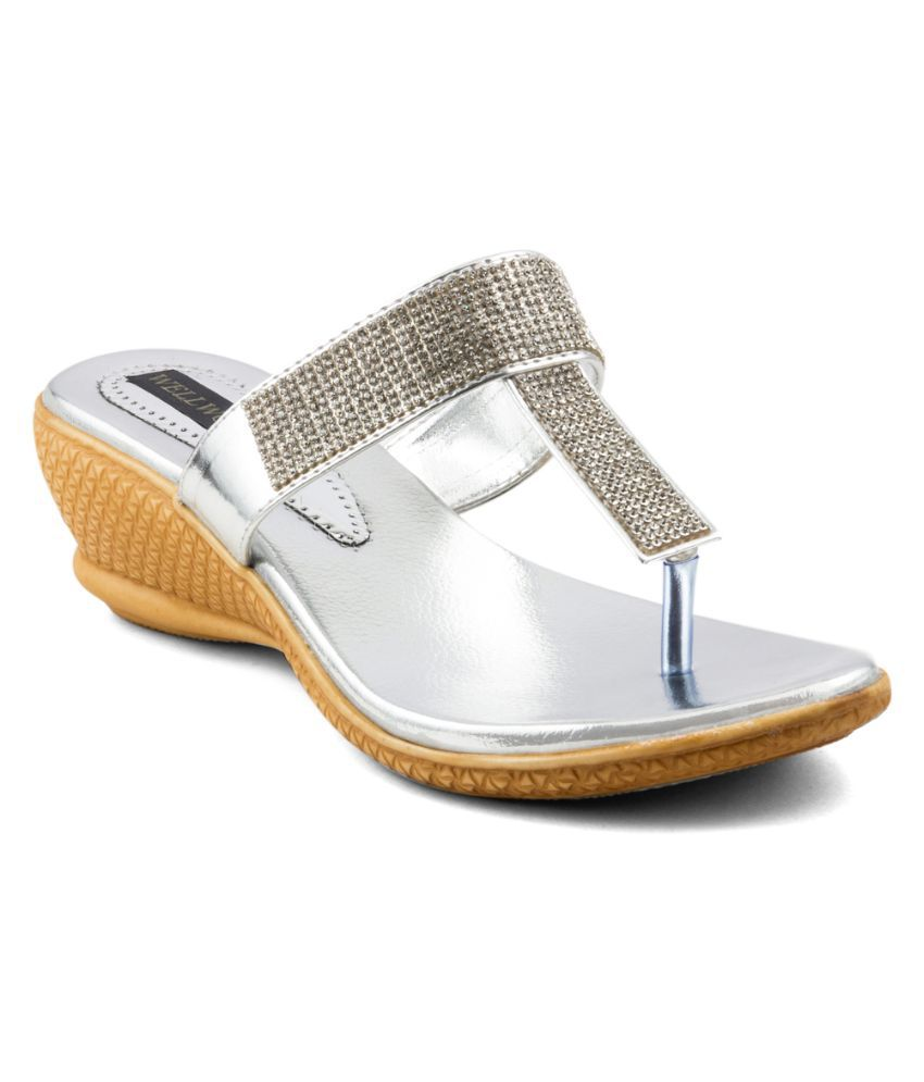 Wellworth Silver Heels