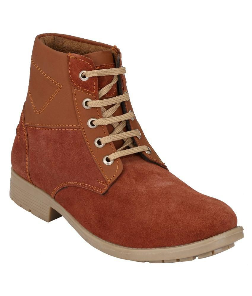 First Way Brown Boots