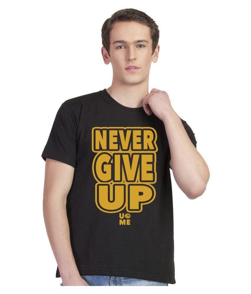 Inkvink Black Round T Shirt