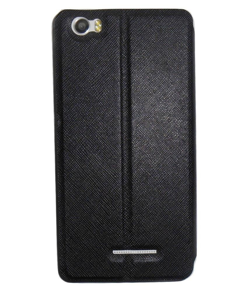 newest collection baa05 df6d4 Mercator Diary Flip Cover for Xolo Era 4K - Black