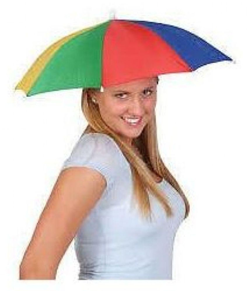 1a0b91d846df3 ... Hat Head Hands Free Umbrella for kids Boys and Girls to protect from Sun  ...