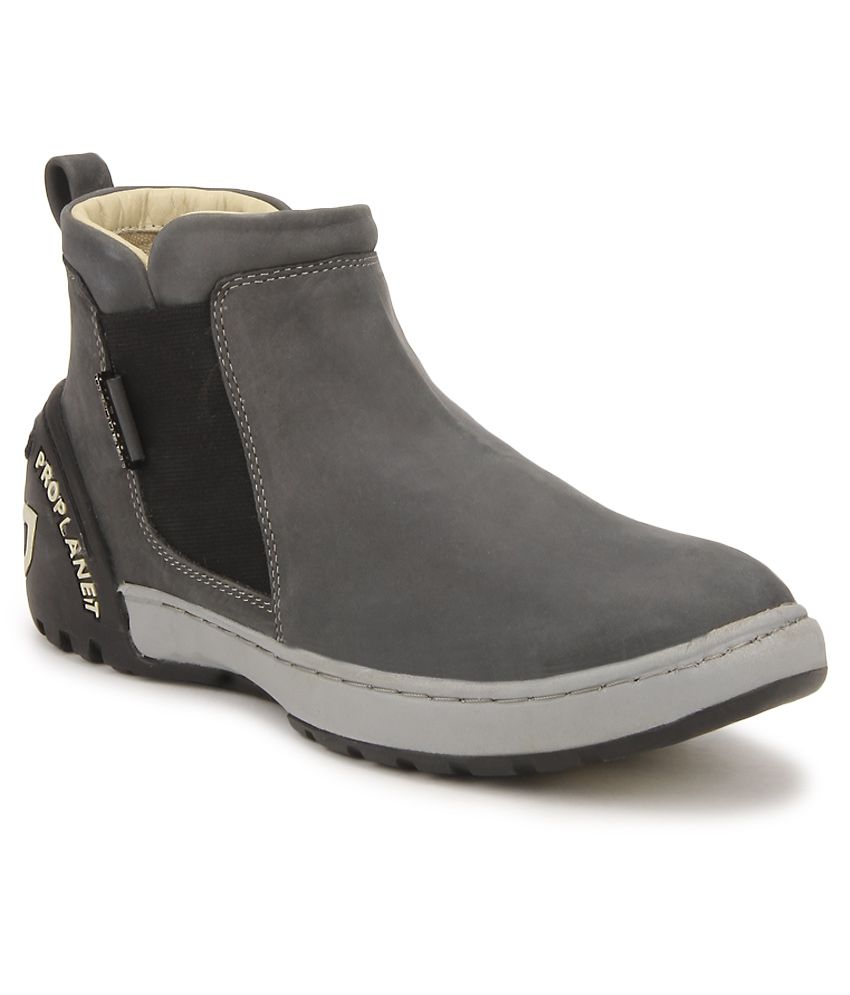 Woodland Gray Boots