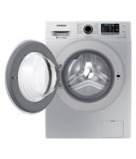 Samsung 8 WW80J5410GS Front Loading with Eco-Bubble 8.0Kg Fully Automatic Front Load Washing Machine Silver