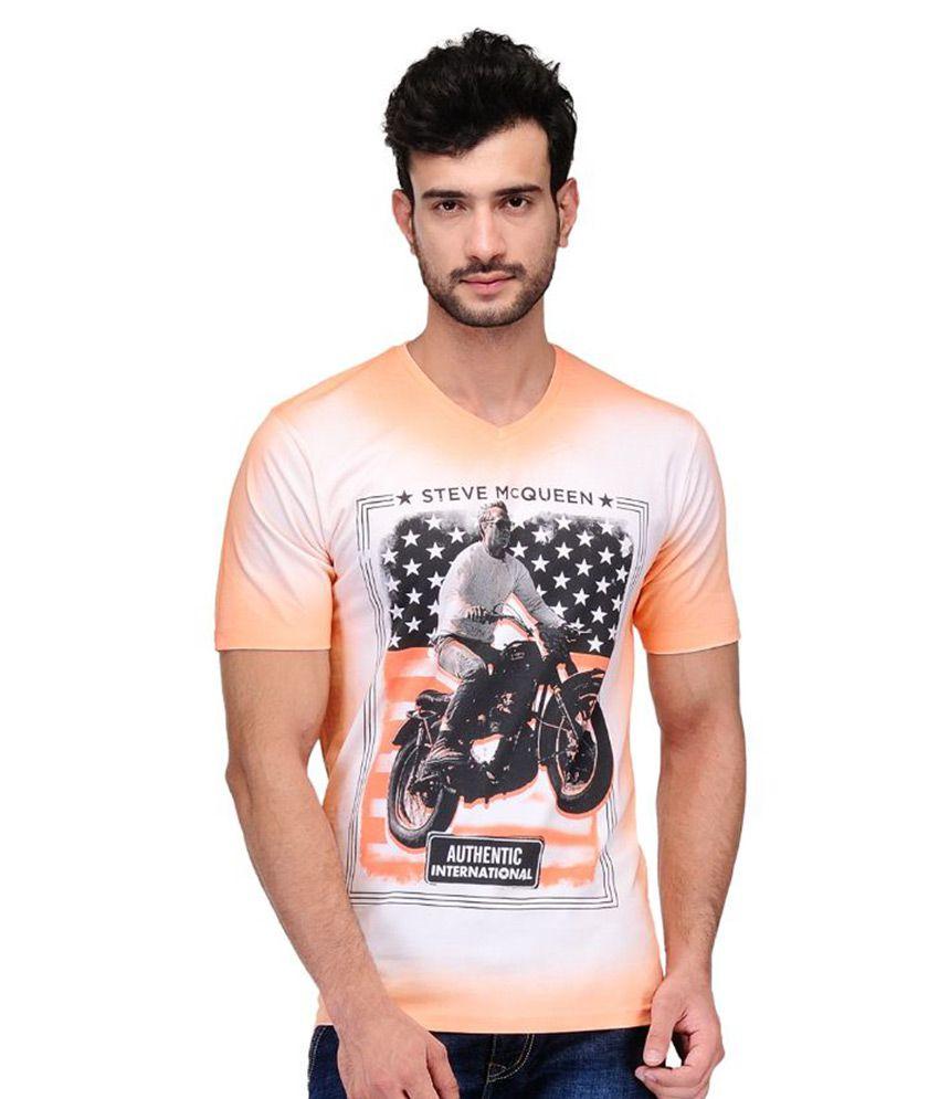 Ausy Multi V-Neck T Shirt