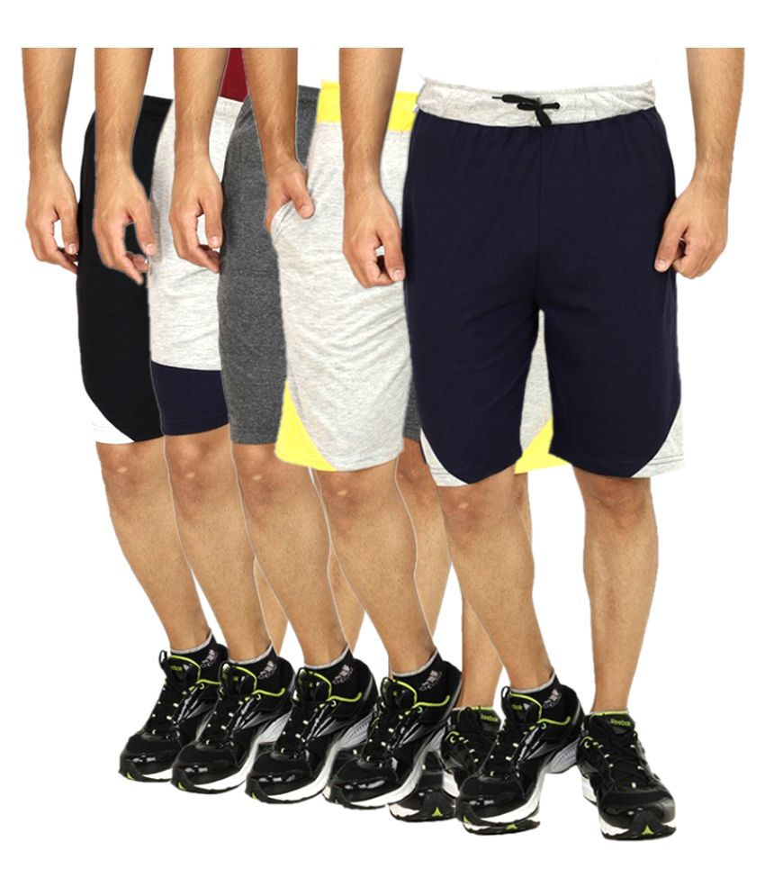 Christy's Collection Multi Shorts Pack of 5