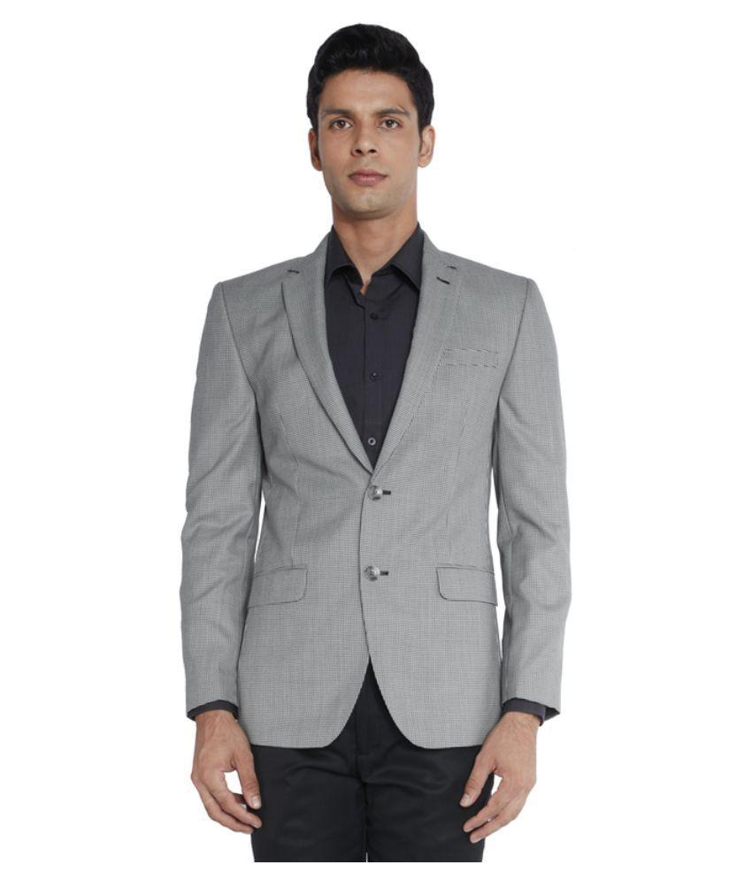 Park Avenue Grey Formal Blazers