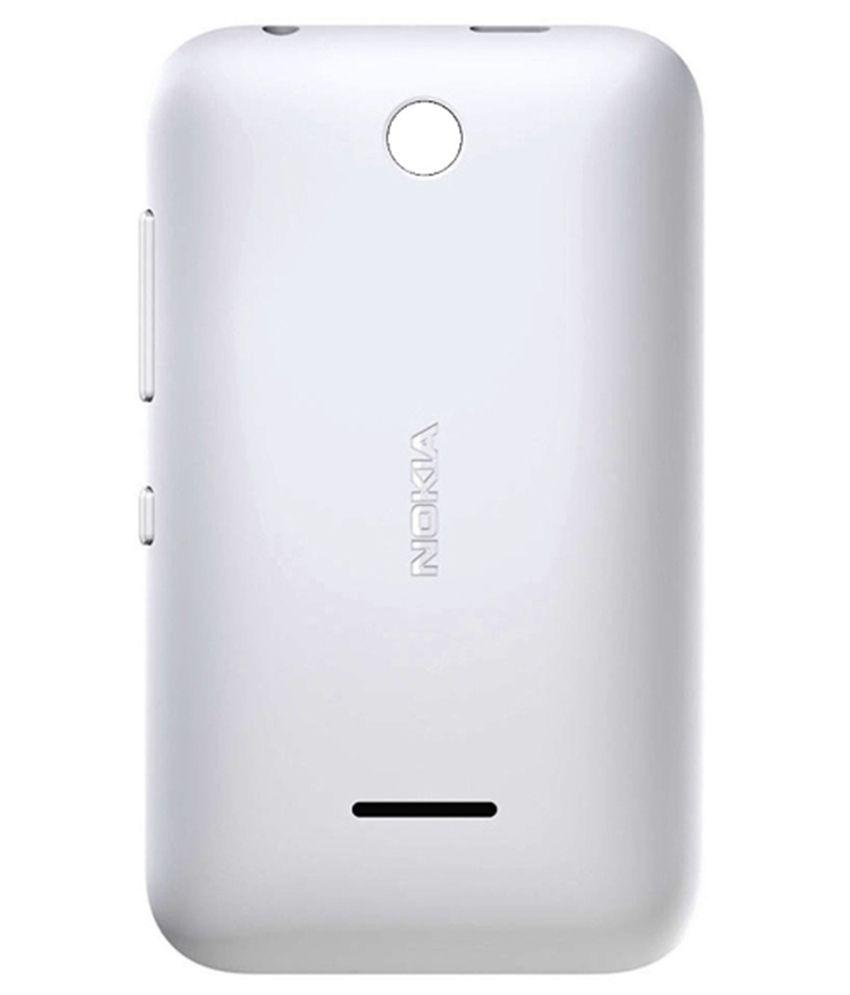 huge selection of fc2cc 3ccac Tingtong Back Panel for Nokia Asha 230 (White)