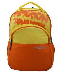 American Tourister 09O-0-06003 Yellow 30 Polyester Casual Backpack